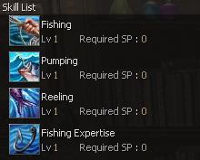 скилы для рыбалки в lineage 2